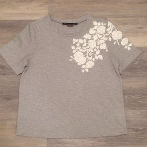 Anthropologie Embellished Tee
